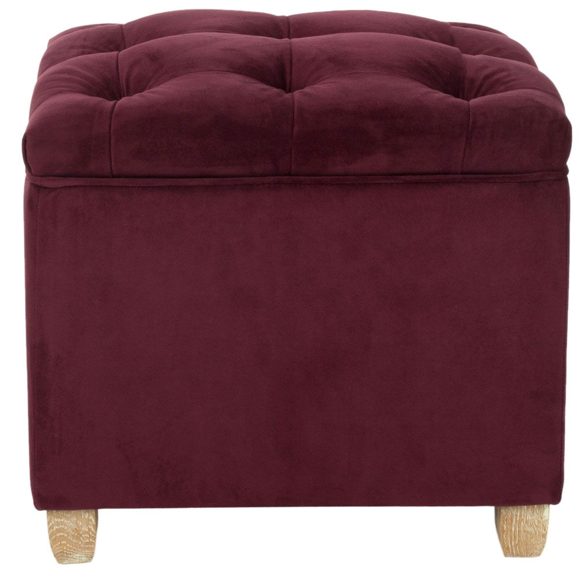 All Occasions Event Rental Burgundy Tufted Ottoman Storage Ottoman Ottoman Tufted Ottoman [ 1171 x 1200 Pixel ]