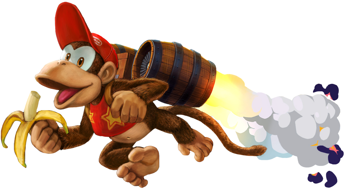 36 Diddy Kong Super Smash Bros Ultimate By Tylerzm On Deviantart Diddy Kong Donkey Kong Country Donkey Kong