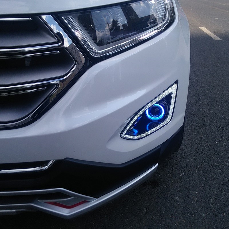 Ford Edge  C B Watch More Here Eosuns Innovative Cob Angel Eye Led Daytime