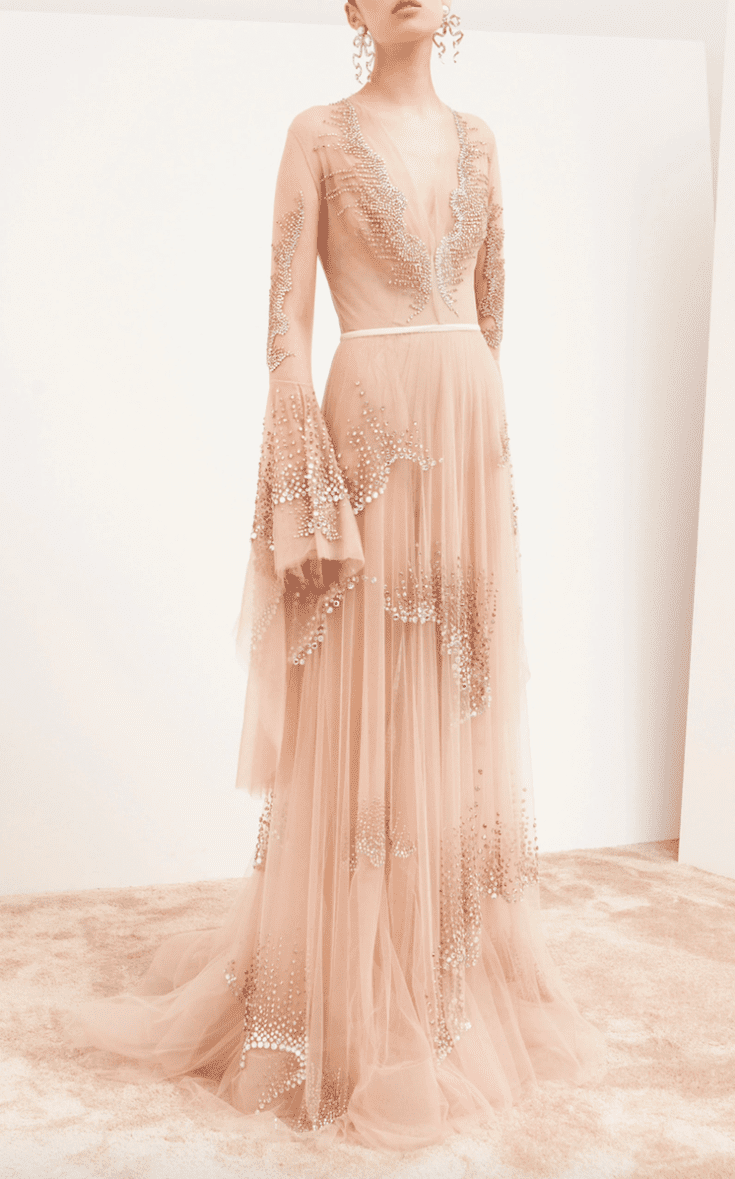 36 Pink Wedding Dresses for the Modern Romantic Bride