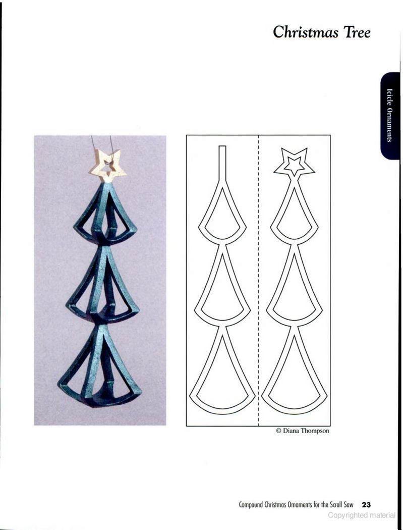 Woodtools Êíèãè compound christmas ornaments for the scroll saw