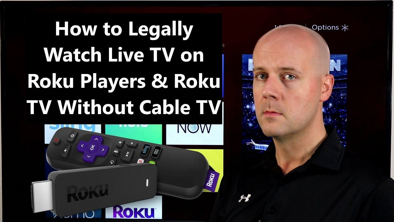 How to Legally Watch Live TV on Roku Players & Roku TV