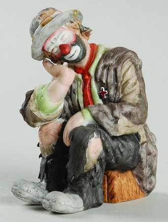 Emmett kelly jr figurine