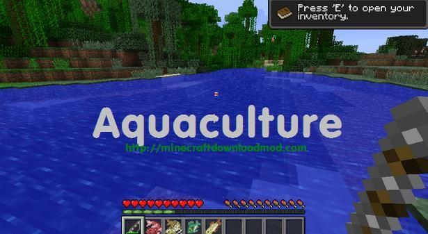 Aquaculture Mod Minecraft 1.6.2