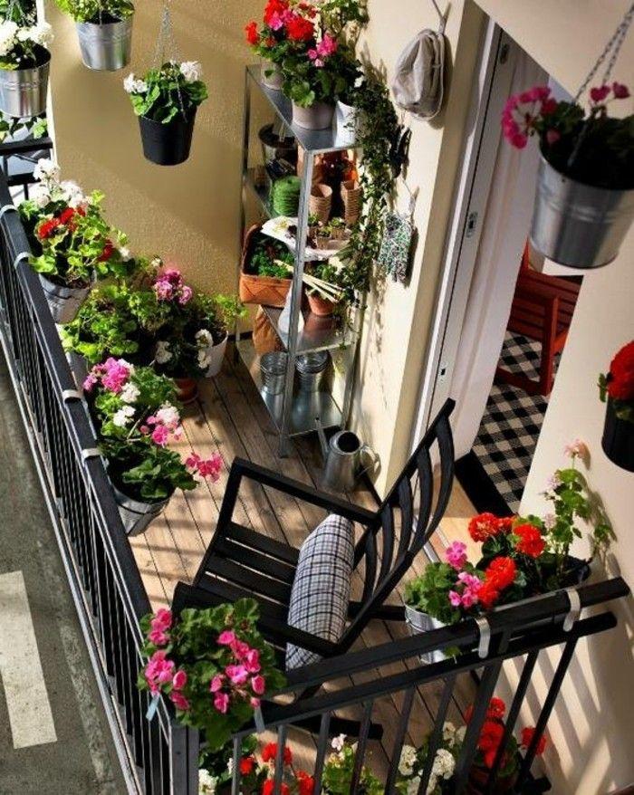 Comment Fleurir Son Balcon En 80 Photos Avec Des Idees Idee