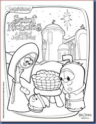 Veggie Tales Saint Nicholas A Story Of Joyful Giving Veggie Tales Christmas St Nicholas Day Veggie Tales