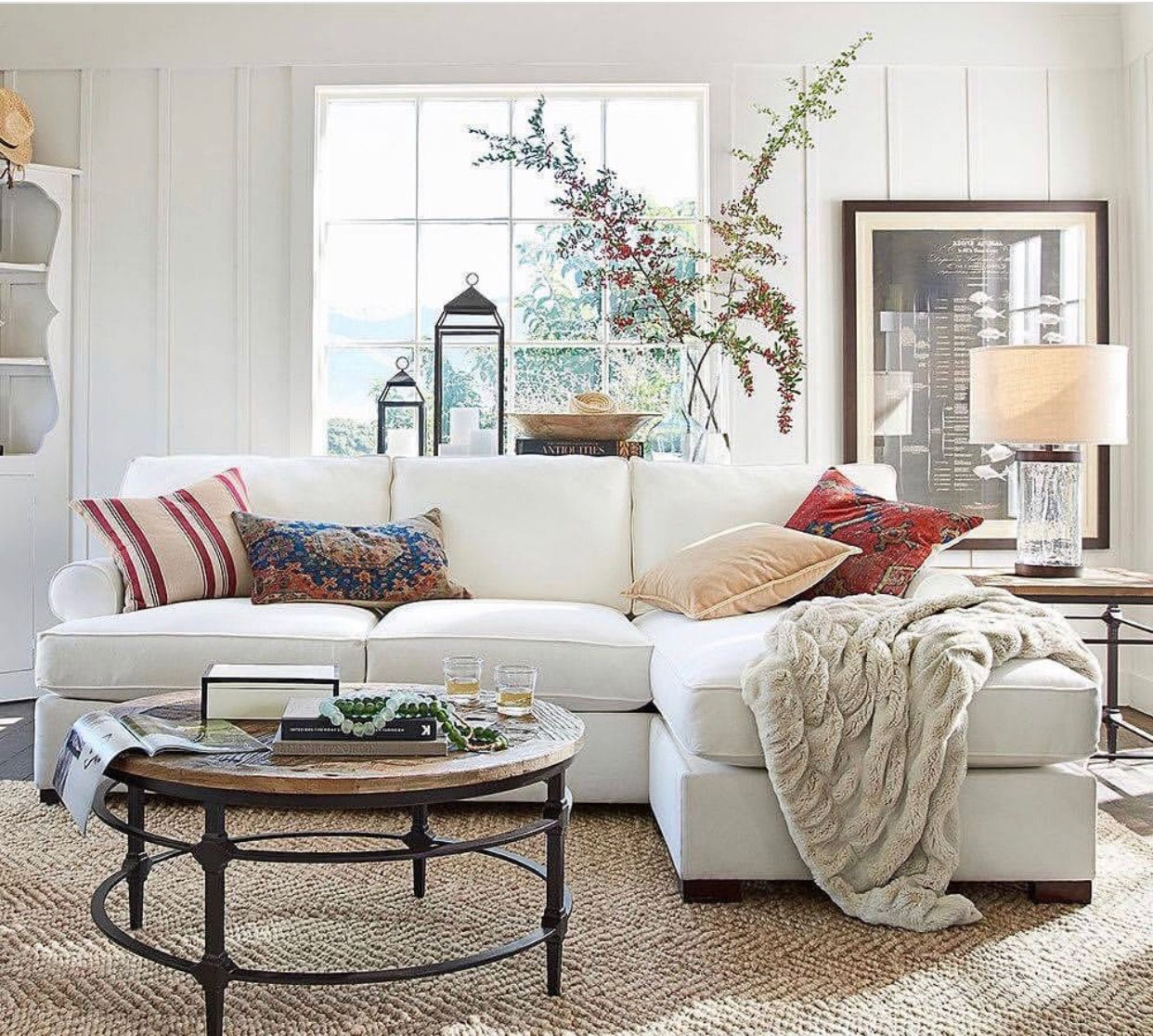 Coffee Table With Sectional Pottery Barn Sofa Tables