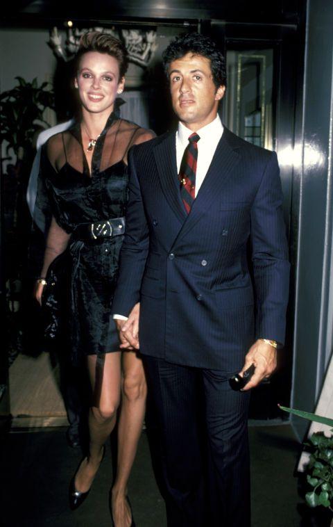 Brigitte Nielsen Amp Sylvester Stallone Rocky En 2019