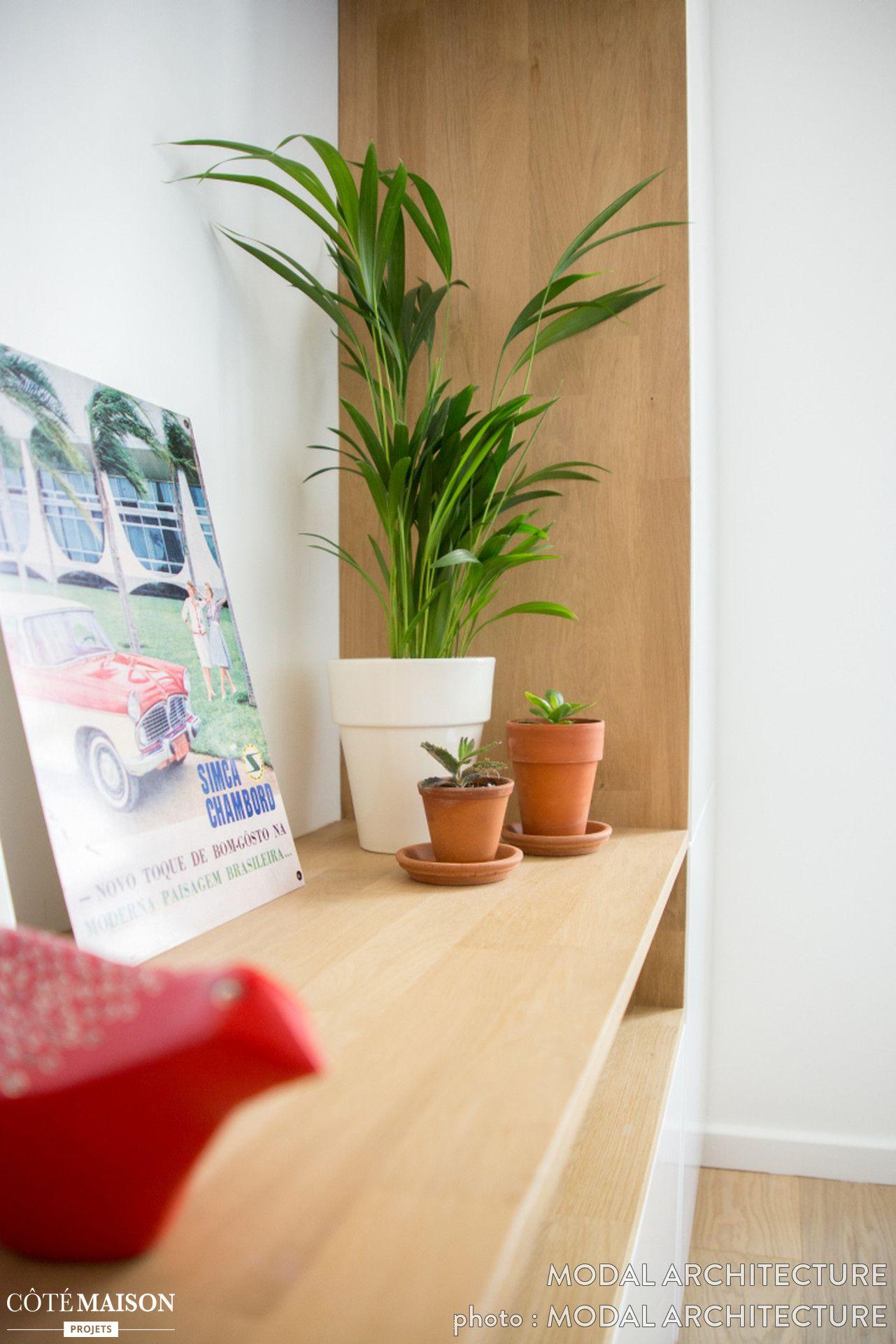 Des plantes vertes toujours un petit plus d co relooker mon int rieur pinterest for Plantes vertes appartement