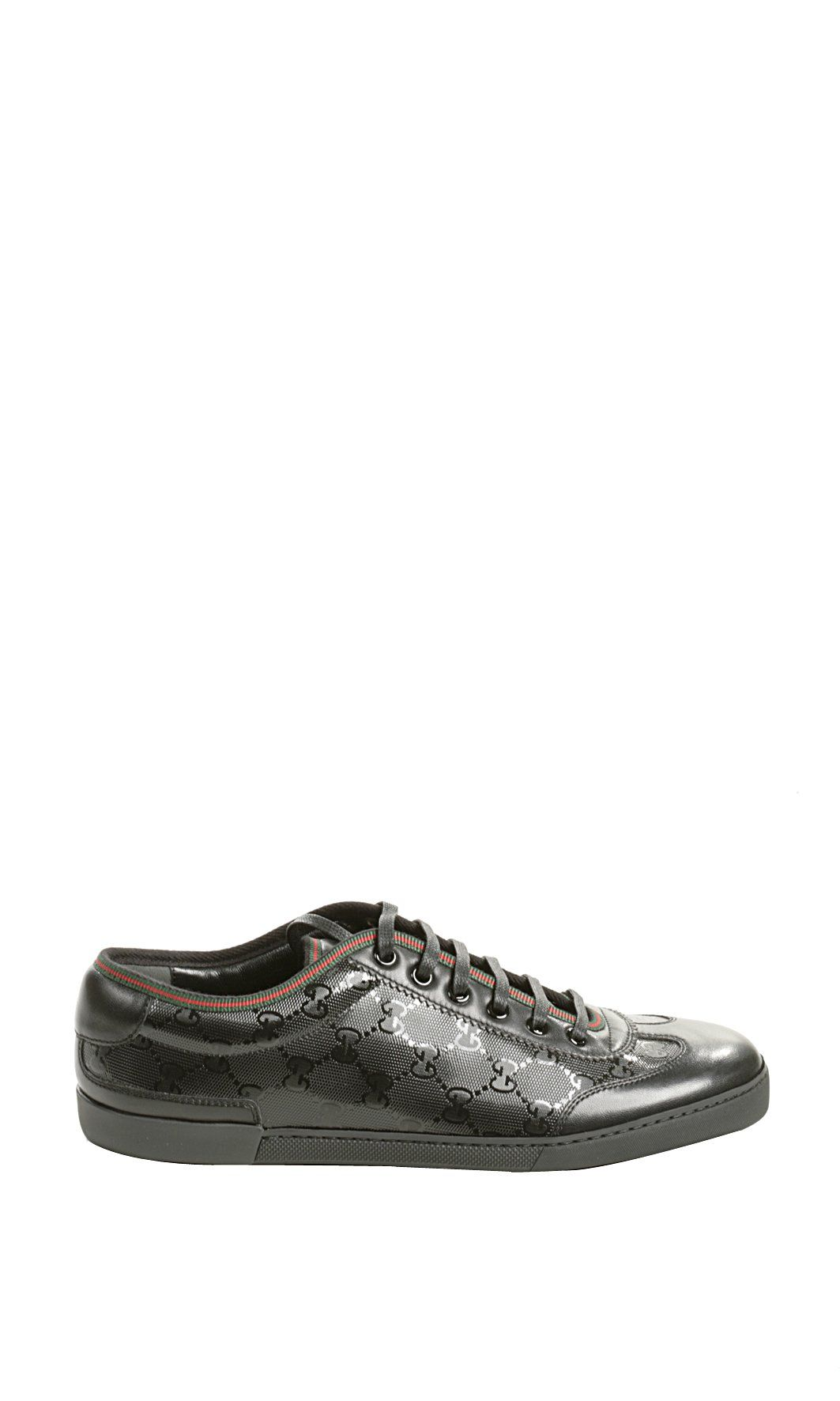 Gucci Barcelona Tennis Sneaker in Black for Men. Chaussures Pour Hommes,  Chaussures De Tennis 6f77ce75f40
