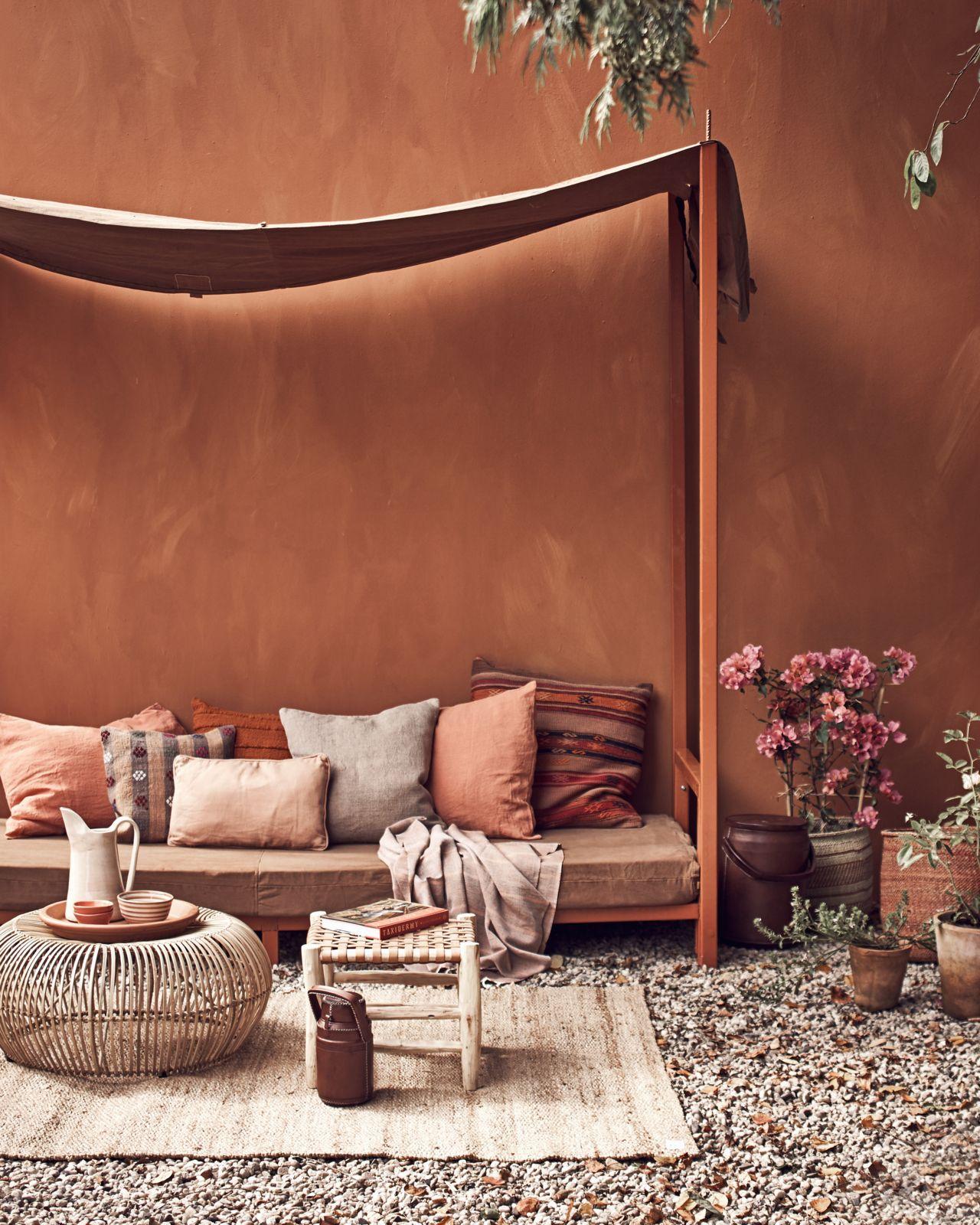 terracotta | HOME | Wandfarbe, Wohnzimmer und Garten