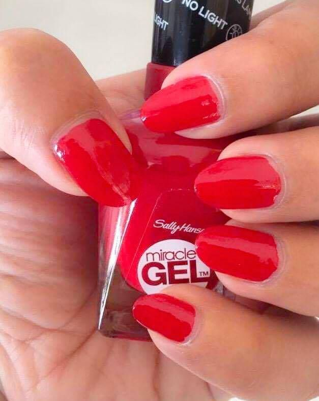 Sally Hansen Gel Nail Polish Without UV Light ~ Miracle Gel ...