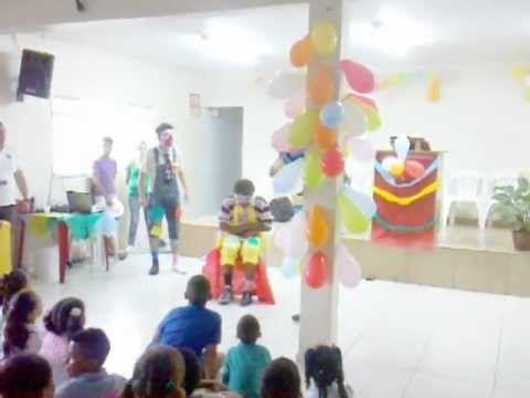 """Peça Teatral """" Dias das Criança 2012 - Ministério Exército do Senhor""""."""