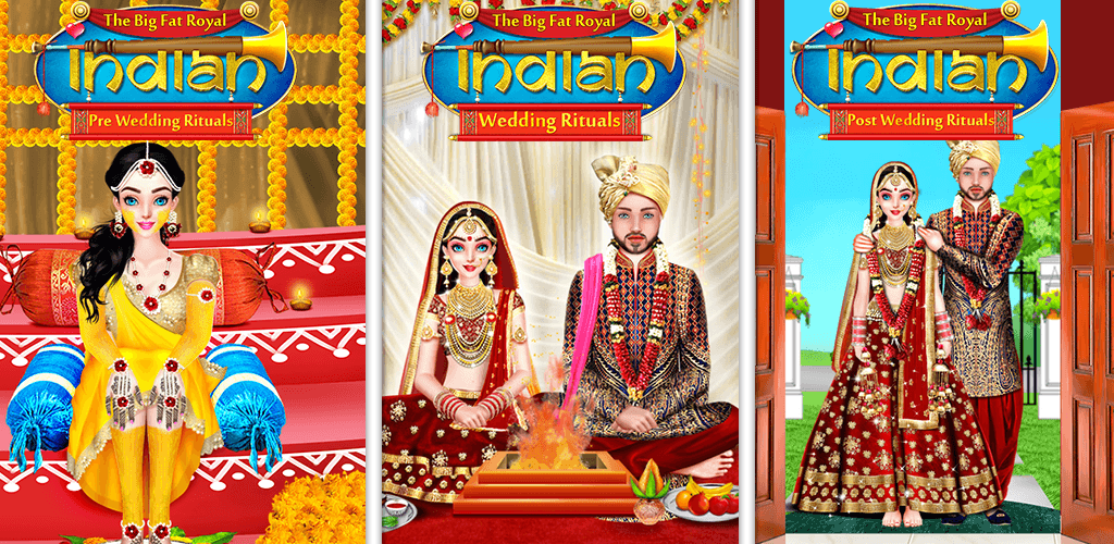 Enjoy Indian Rituals Firstly Play Thebigfatroyalindianpreweddingrituals Then Enjoy Thebigfatroy Royal Indian Wedding Indian Wedding Games Wedding Rituals