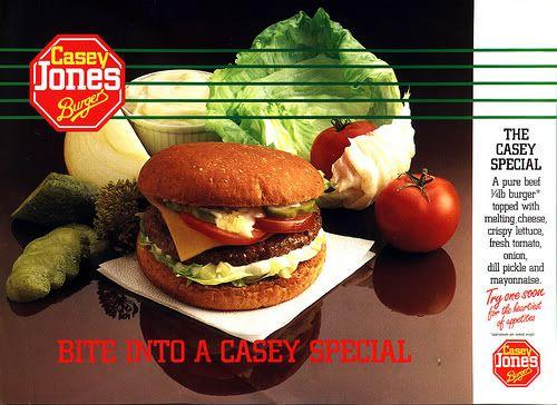 Casey Jones Burger Bar Burger Casey Jones Burger Bar