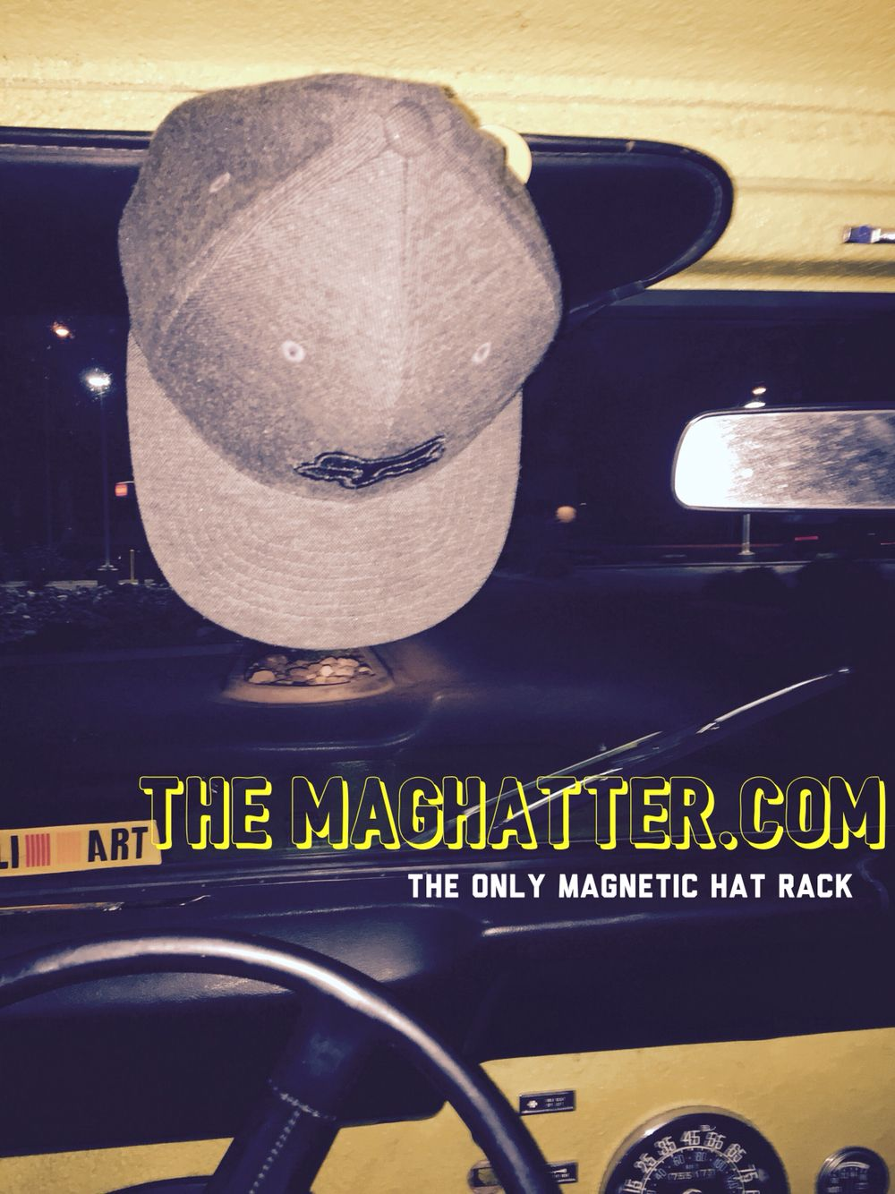The Ultimate Hat Rack That Is Not Just A Hatrack But A Magnetic Hat Rack For Your Truck Or Vehicle Baseball Cap Rack Hat Rack Cowboy Hat Rack