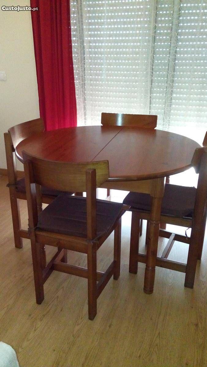 Mesa extensivel + 4 cadeiras - à venda - Móveis & Decoração, Porto ...