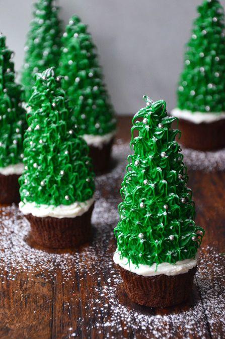 Christmas Tree Cupcakes Recipe Christmas Tree Cupcakes Sugar