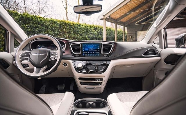 2018 Chrysler Pacifica Hybrid Review Release Date Specs