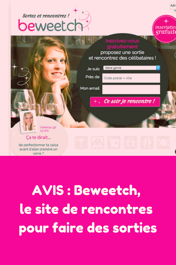 test du site de rencontre