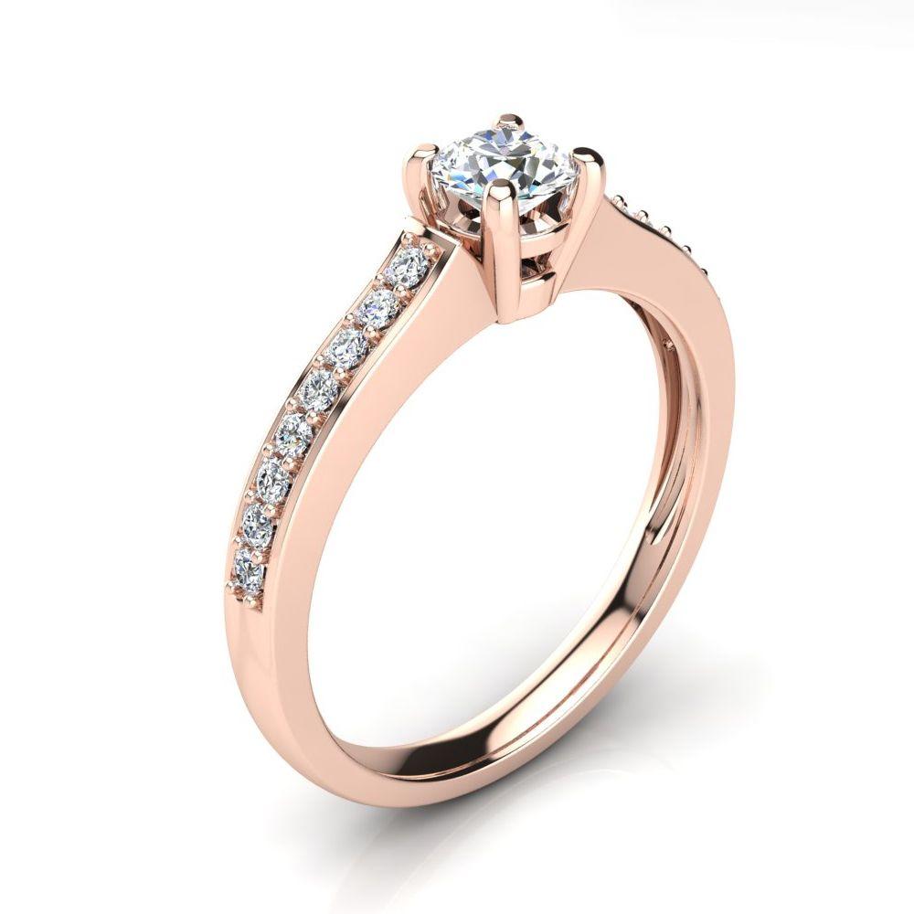 carat center agi certified designer composite diamond engagement
