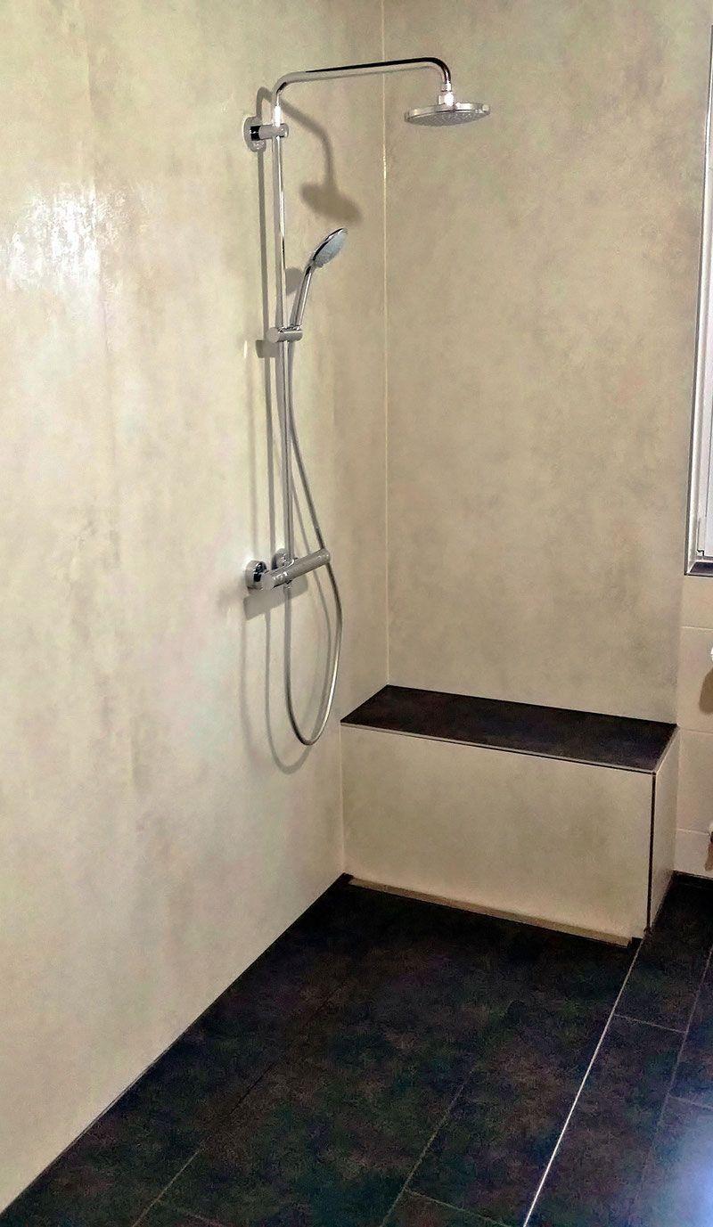 Fugenfreies Bad barreierfreie dusche aus feinsteinzeug fugenlos fugenfreie dusche