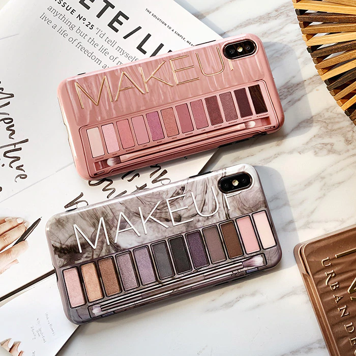 Makeup Eyeshadow Palette phone Case For iphone XS Max XR