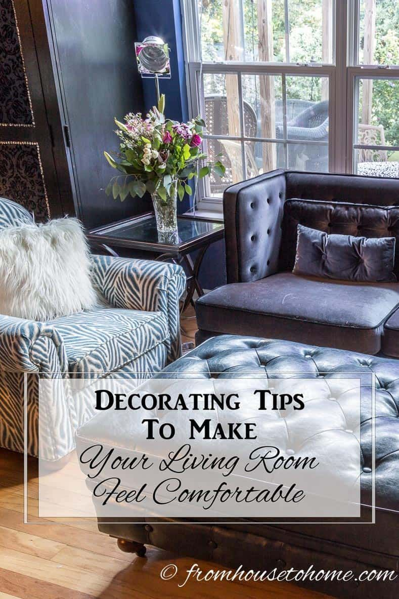 decorating tips to make your living room feel comfortable rooms i rh pinterest com
