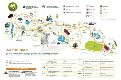 Memphis Zoo Map & Info Youth Group