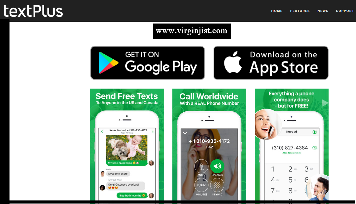 textPlus App Free SMS & Texting App for Android and iOS