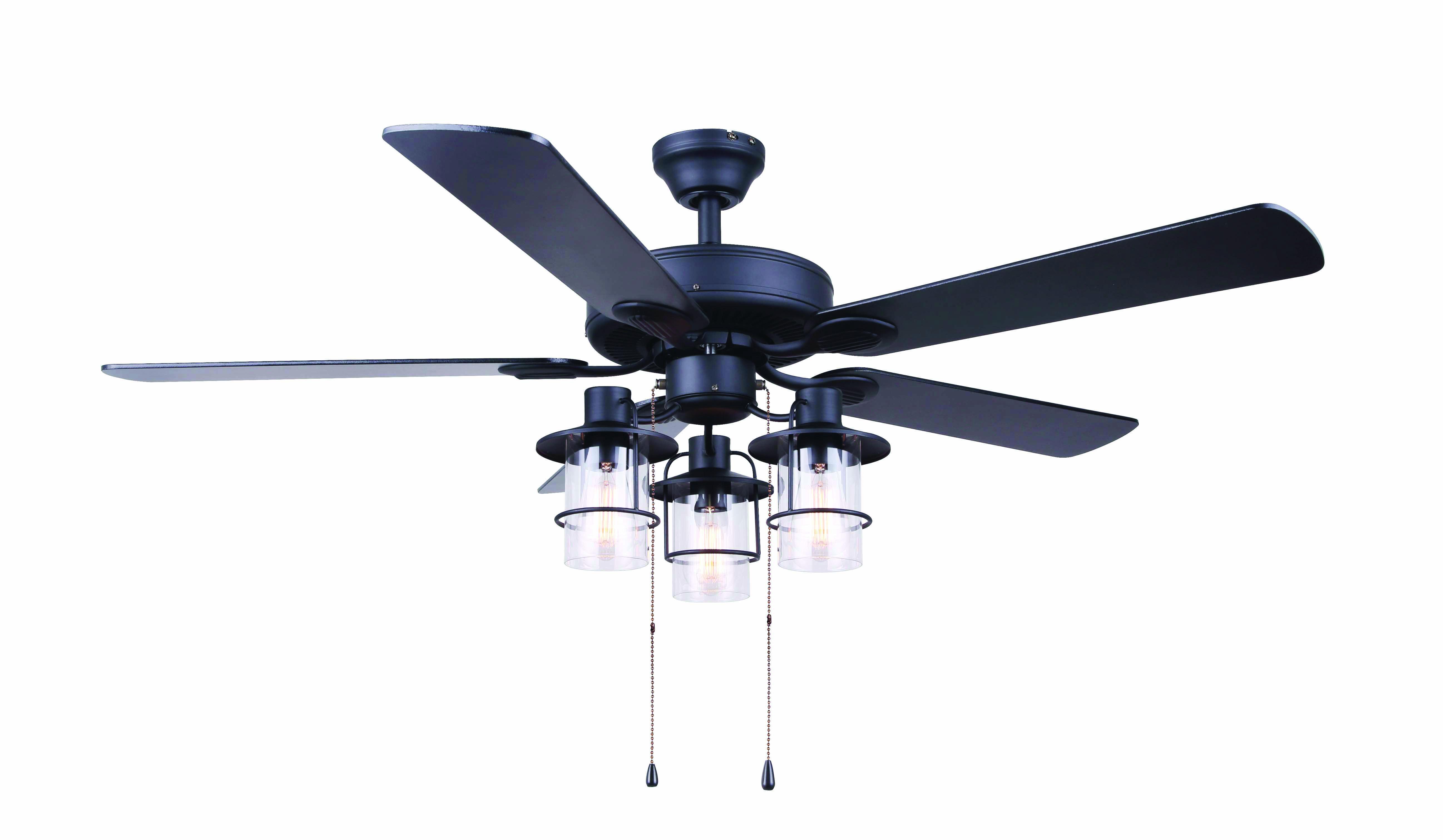 Catena Ceiling Fan Ceiling Fan 52 Ceiling Fan Matte Black Ceiling Fan