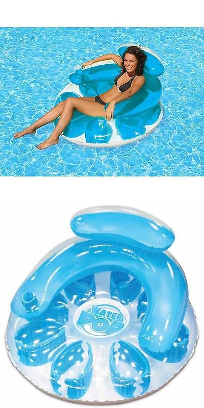 Other Sand And Water Toys 11745: Poolmaster Floating Lounge Game Pool Chair  Caribbean Fun Aqua