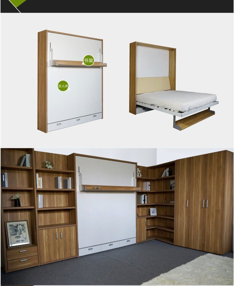526188828650 Study Invisible Bookshelf Multifunction Study Tables