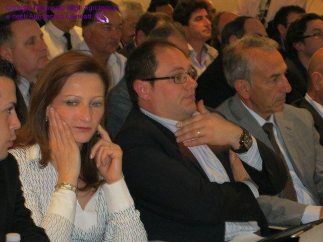 Anita Mallozzi, Presidente di Frosinone, Enzo Dapit, Segretario di Latina, Vittorio Di Perna, Consigliere Nazionale.