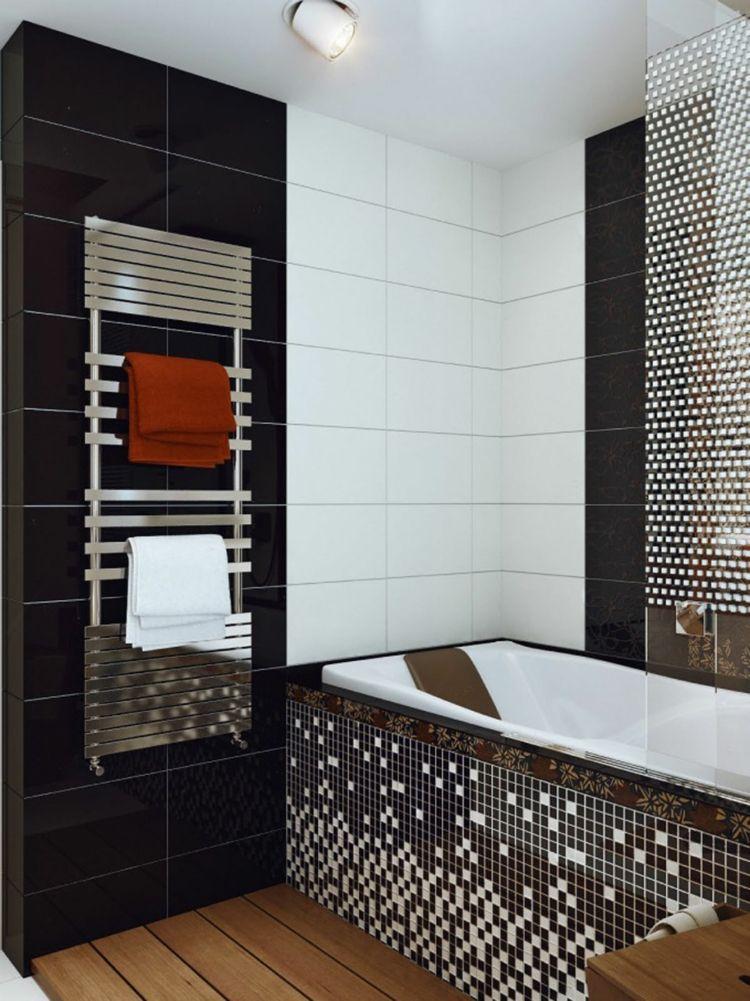Couleur salle de bain en 55 idées de carrelage et décoration | Tubs