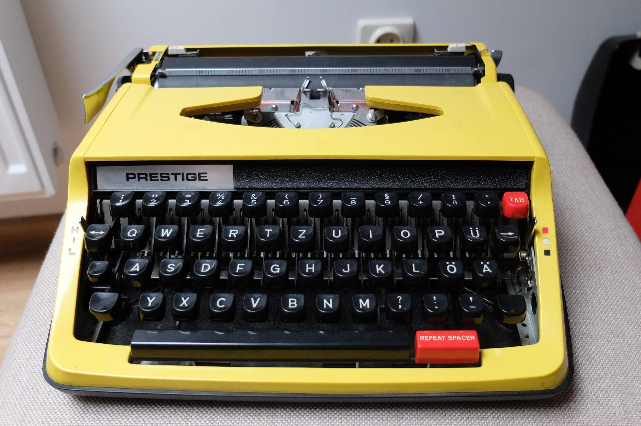 Maszyna Do Pisania Prestige 6810233513 Oficjalne Archiwum Allegro Typewriter Electronic Products