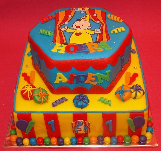 verjaardagstaart bumba
