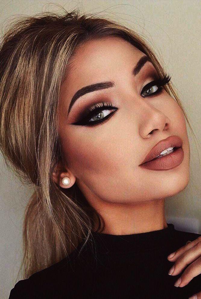 Matto Makeup Brushes Professional 10Piece Golden Makeup
