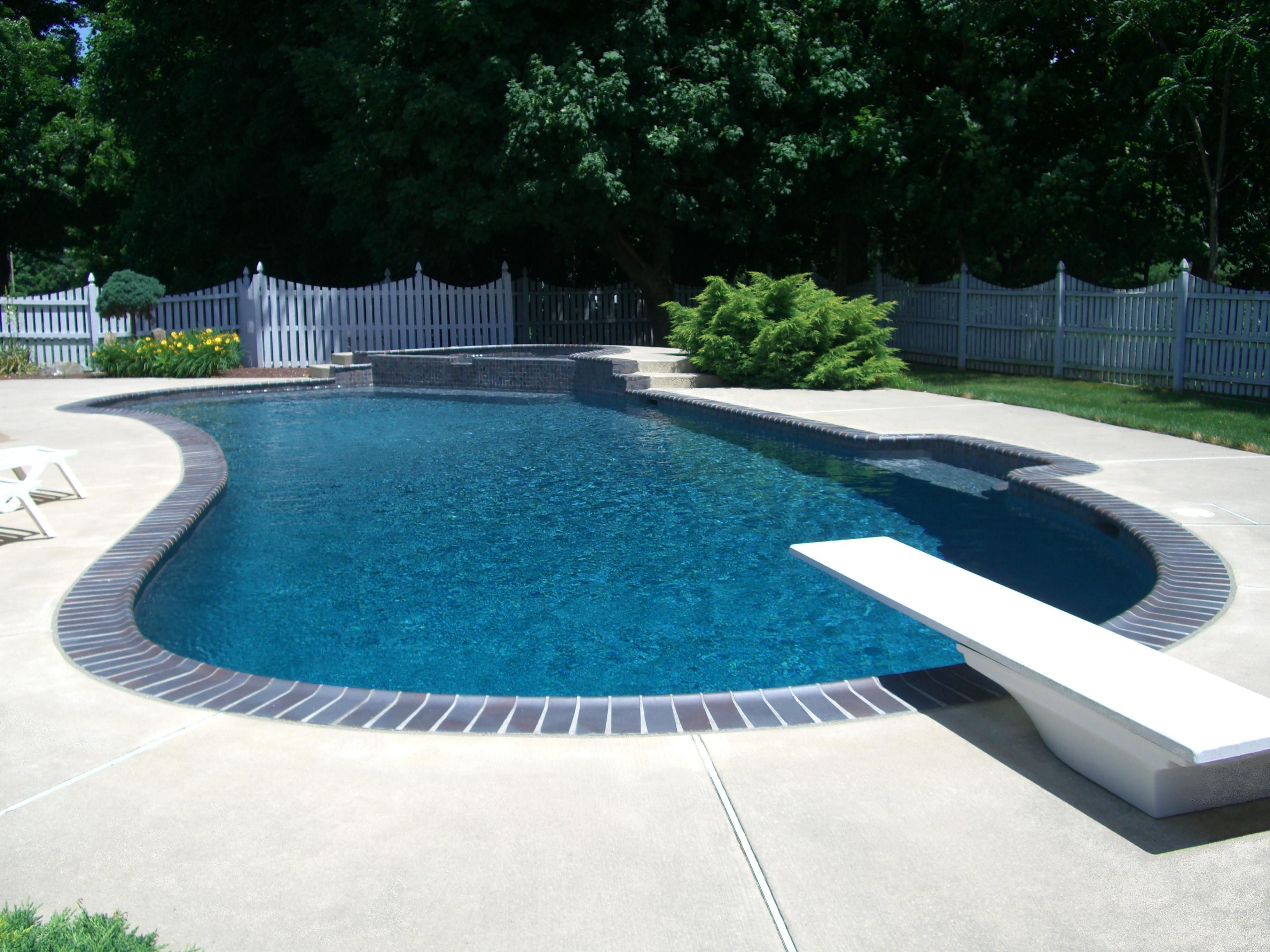 pool coping with grey concrete Google Search Pool