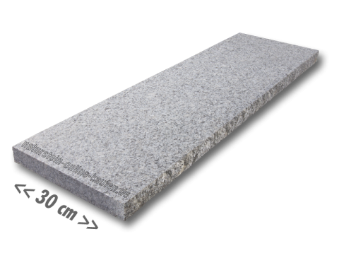 Mauerabdeckung Granit Hellgrau G603 100x30x4cm Mauerabdeckung Granit Mauer