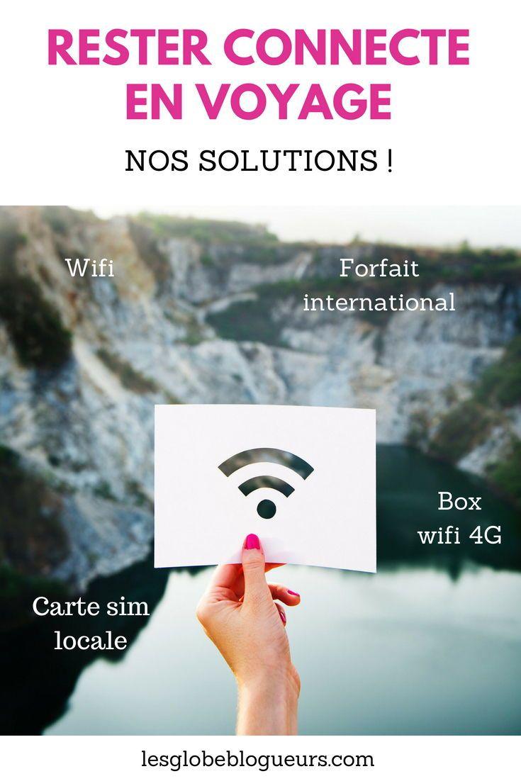 Quel Forfait Mobile Pour Un Voyage A L Etranger Internet En Itinerance Trucs De Voyage Voyages A L Etranger Voyage
