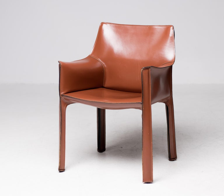 Leather Chair Cassina