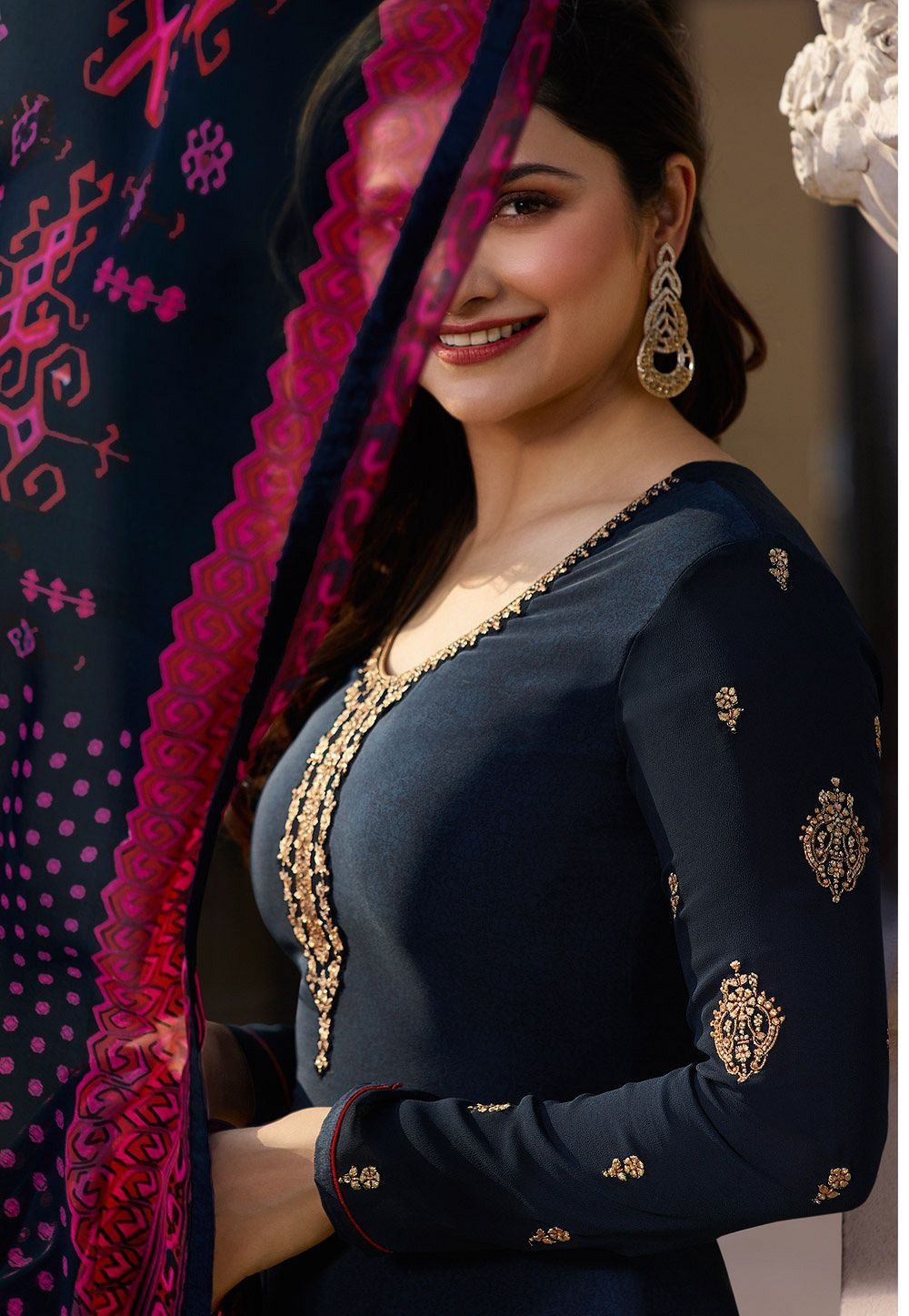 Pin on Party-wear-anarkali-salwar-suits