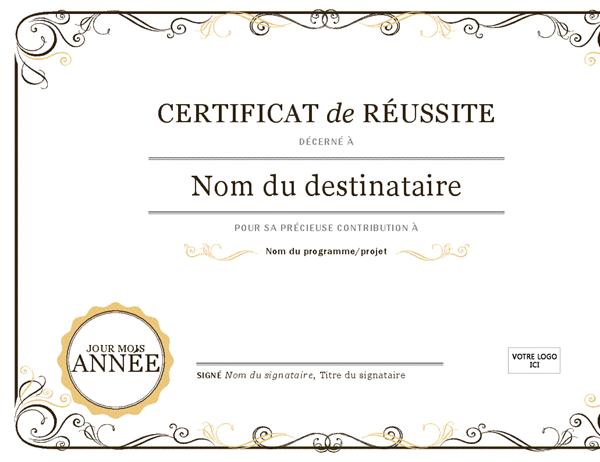 Diplome A Imprimer Gratuit Vierge
