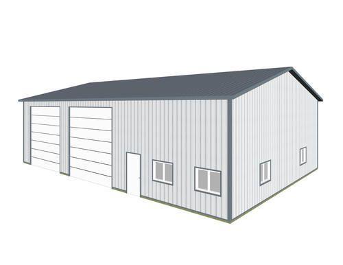 42\' x 60\' x 15.5\' Specialty Garage at Menards | Pole bldgs ...