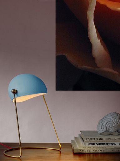 Modernist 1950s Lamp Flure Grossart Vintage Design Interiors Lamp Vintage Table Lamp Vintage Interior Design