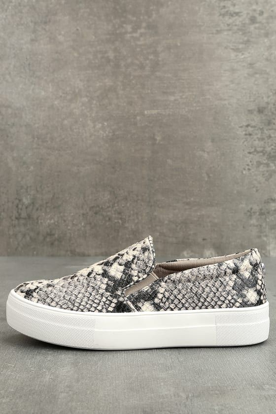 a4ab81a8052 Steve Madden Gills Natural Snake Slip-On Sneakers in 2019 | My ...