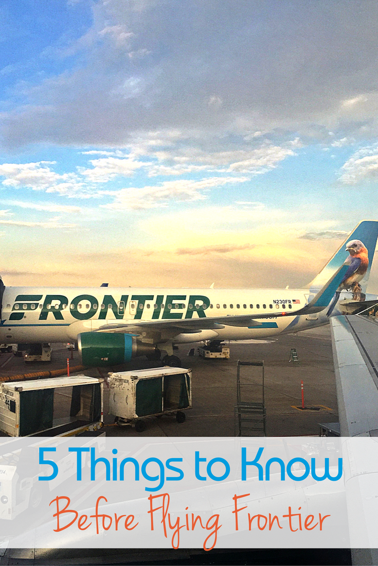 Flying Frontier Airlines Know Before You Book Traveling Mom Packing Tips For Travel Travel With Kids Travel Solutions
