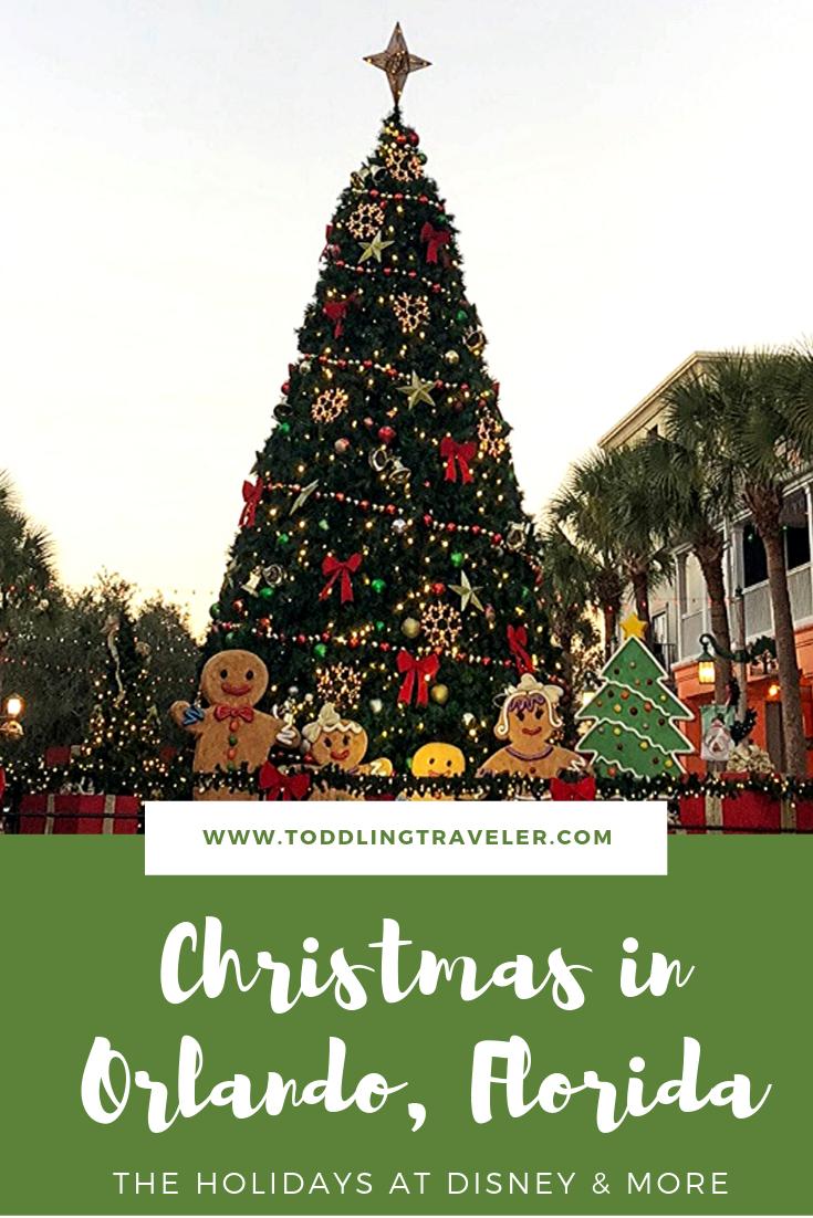 Visiting Orlando At Christmas Time Orlando Christmas Christmas Things To Do Christmas Travel