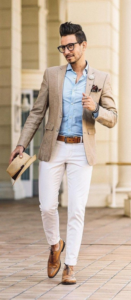 What To Wear To A Summer Wedding en 2020 Hombres bien